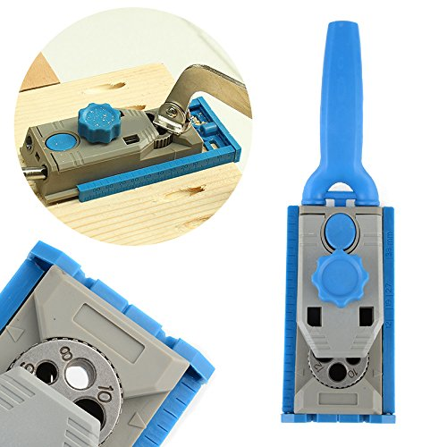 WILLAI Mayitr Multi-function Wood Work Tool Jig Pocket Hole System For Wood Working Drill Round Tenon Locator Carpenter Accessories