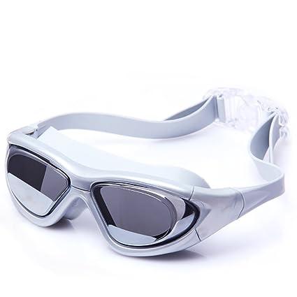 Gafas de la natación de los hombres y de las mujeres, marco grande de HD