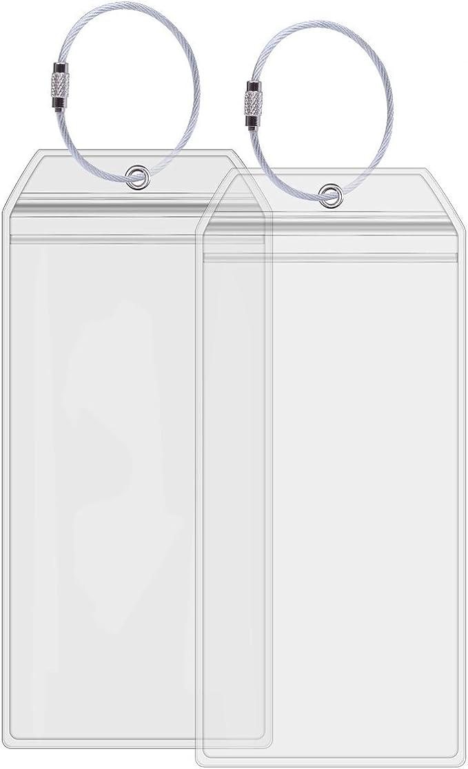 Amazon.com: Crucero etiquetas de equipaje soportes ...