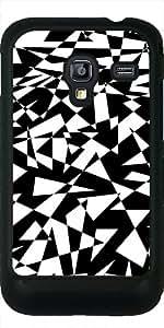 Funda para Samsung Galaxy Ace Plus S7500 - Revoltijo De Triángulos En Negro by pASob