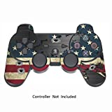 Skin Stickers for Playstation 3 Controller – Vinyl High Gloss Sticker for DualShock 3 – Protectors Decal Wireless Game PS3 Controllers – Battle Torn Stripes [ Controller Not Included ] Review