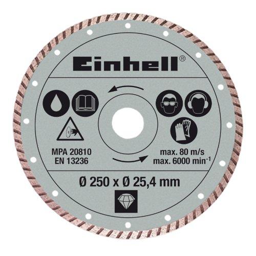 Einhell Diamant Trennscheibe passend für Steintrennmaschinen (250x25,4 mm)