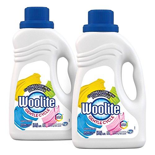 Woolite Gentle Cycle Liquid Laundry Detergent, 100oz (2X50oz) Sparkling Falls ()