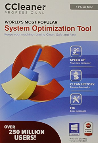 Ccleaner Professional - 1 PC Or Mac (Software Cleaner Mac)