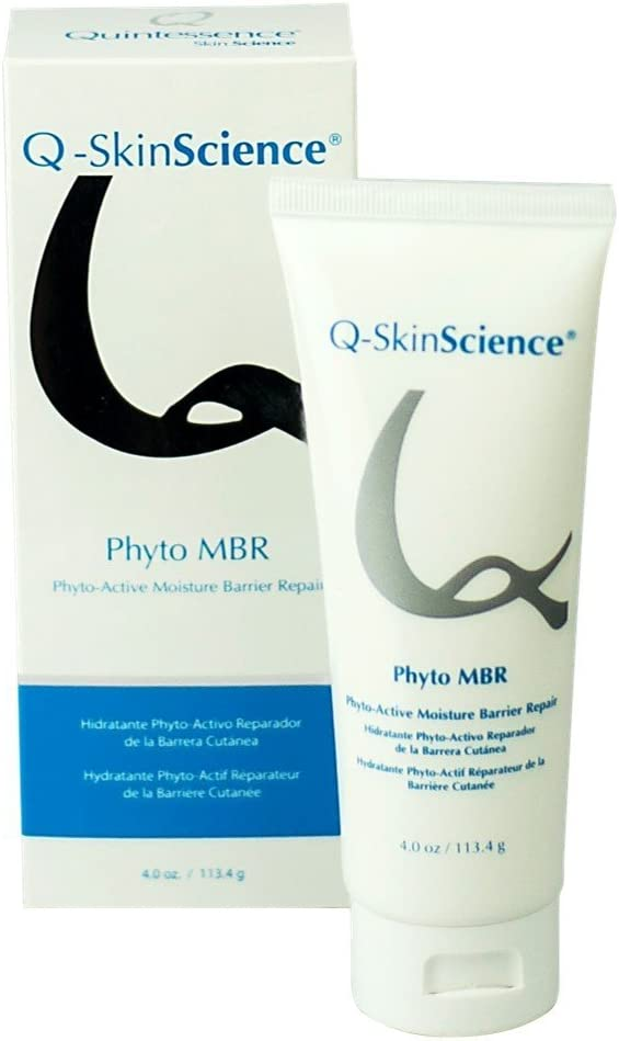 Phyto-Active Moisture Barrier Repair MBR Lotion with Plant Stem Cells, Ceramides, Essential Fatty Acids, Natural Bioactive Keratin, Antiaging, Antioxidant, Rejuvenation and Hydration 4oz