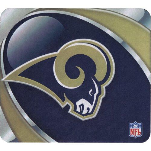 - St. Louis Rams Mouse Pad - Vortex Design