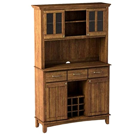 Amazon.com - Farmhouse Buffet Cabinet Asian Hardwood Cottage ...