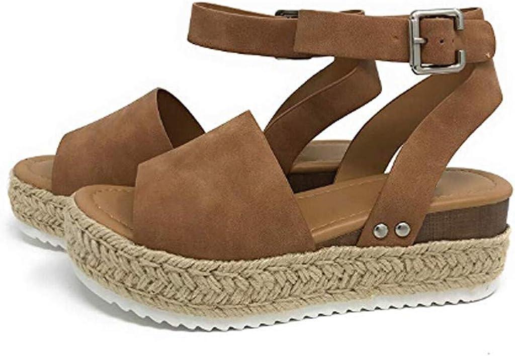 LIKESIDE Sandal Womens Thick-Bottom Sandals