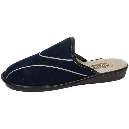 VANITY 1862 Chinelas DE VANITY Hombre Zapatillas CASA Azul 40: Amazon.es: Zapatos y complementos