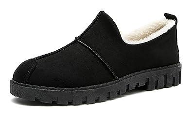 dc61022d1606d7 Respeedime Women s Fashion Cotton Shoes New Social Casual Walking Shoes  Black