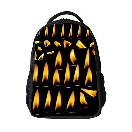 Amazon.com: SARA NELL - Bolsa escolar para niños con velas ...