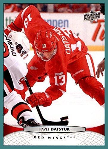 Pavel Datsyuk Detroit Red Wings - 2011-12 Upper Deck #387 Pavel Datsyuk detroit red wings KHL Russia