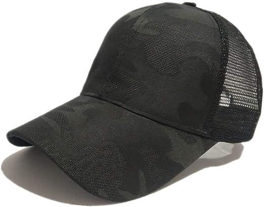 HNGPB - Gorra de béisbol para Mujer, Ajustable, de Malla, Estilo ...