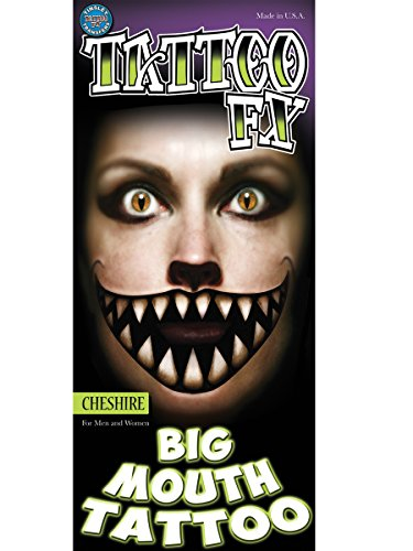 Tinsley Transfers Big Mouth Tattoo ()