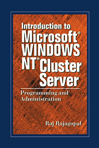 Introduction to Microsoft Windows NT Cluster Server: Programming and Administration ()