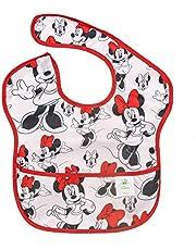 Bumkins Disney Baby Waterproof Superbib, Minnie, 6-24 months