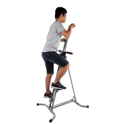Stair Climber Machine Folding Climbing Exercise Machine Vertical Climbing Exercise Machine for Home Gym Fitness