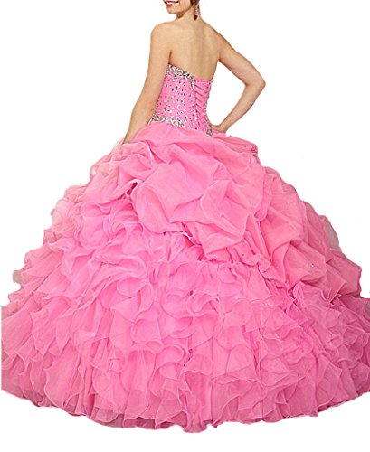 Aisha Womens' Jacket Sweet Green Gown Quinceanera Beads Ball Dress With 16 Sweetheart 4BRrcBfqO