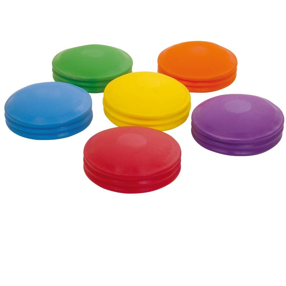 Exercise & Fitness Balance Pad Set Of 6 Assorted Colour