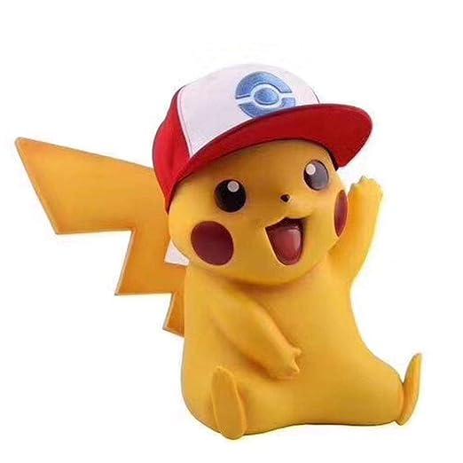 BHNACM Pokemon Pikachu 1: 1 con Capucha Linda del Carácter ...