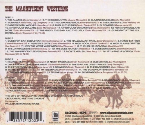 The Magnificent Westerns by SILVA SCREEN MUSIC