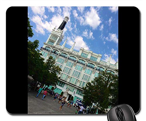Mouse Pads - Spain Hotel Madrid Architecture Building Landmark