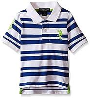 U.S. Polo Assn. Boys' Heathered Stripe P...