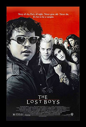 The Lost Boys - 11x17 Framed Movie Poster by Wallspace