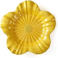 Travessa Flor Acervo Panelinha Curcuma Grande