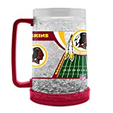 Duck House NFL Washington Redskins 16oz Crystal Freezer Mug