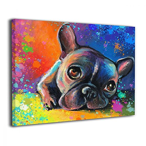 Best french bulldog art canvas list