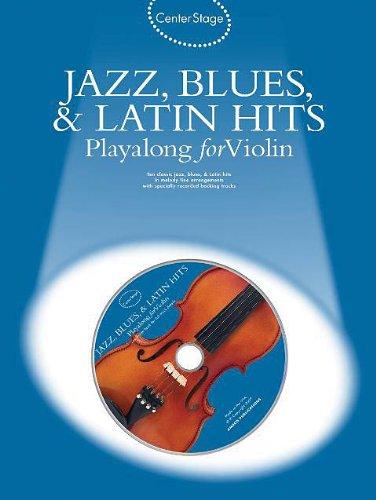 - Jazz, Blues & Latin Hits Play-Along for Violin - Book + CD