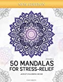 50 Mandalas for Stress-Relief (Volume 1) Adult