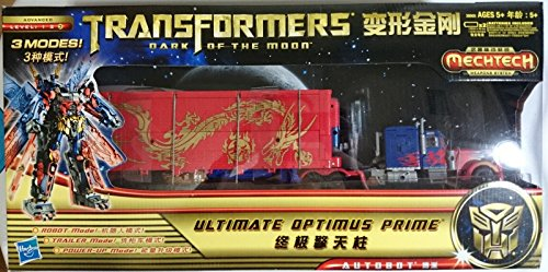 Transformers Ultimate Optimus Prime Year of the Dragon Dark of the Moon Mechtech .HN#GG_634T6344 G134548TY86572