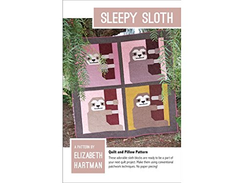 Elizabeth Hartman BCI Crafts EHP033 Sleepy Sloth Pattern
