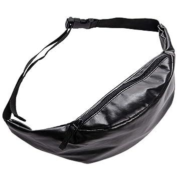 whatUneed Bolso de Cuero de la Cintura Que Camina el Paquete de la Cintura Deportes de la Moda Que Caminan Corriendo el Bolso de la Cintura de la Correa Bolso Cruzado Ligero del Recorrido