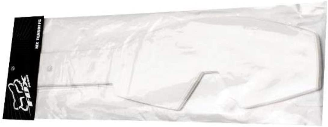 Clear 20 Pack Fox Racing Airspace//Main II Laminated Motocross Goggle Tear-Offs
