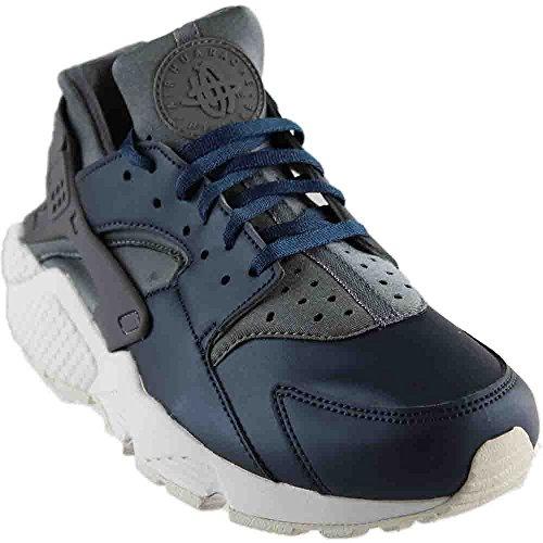 buy online c1867 e4c8c Galleon - NIKE Women s Air Huarache Run PRM TXT Cool Grey Mtlc Armory Nvy  Running Shoe 10 Women US