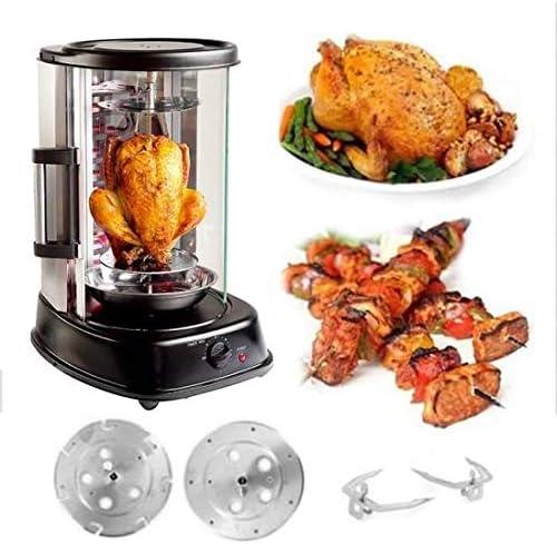 Asador de Parrilla Pollo Carne Vegetales Grill Master 1500 W M-Line by Enrico: Amazon.es: Hogar