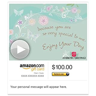 Amazon Gift Card - E-mail - You Are Special to Me Birthday (Animated) [American Greetings] (B00BWDH01Q) | Amazon price tracker / tracking, Amazon price history charts, Amazon price watches, Amazon price drop alerts