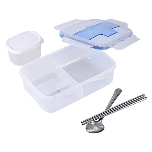 Lunch Box, yosoo Railes multifunción Cajas - Recipiente hermético ...