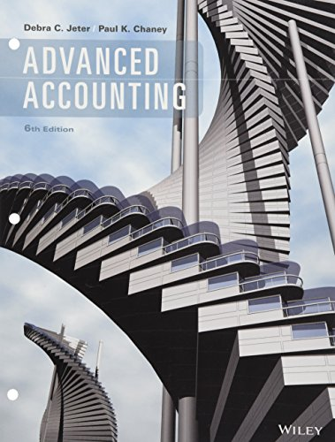 Advanced Accounting, Binder Ready Version