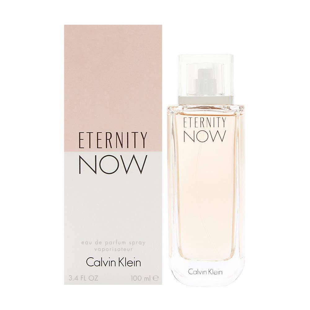 C K Eternity Now Women Eau De Parfum Spray 3.4 FL OZ/100 ml
