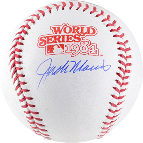 Jack Morris Detroit Tigers Autographed 1984 World Series Logo Baseball - Fanatics Authentic Certified