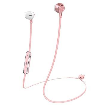 Auriculares inalámbricos con Bluetooth Mijiaer M5 estilo Apple auriculares HiFi estéreo con micrófono, gancho deportivo