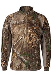 Scent-Lok Men's Attack 1/4 Zip Shirt