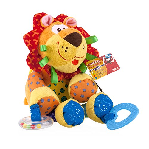 Lion Baby Toy - Nuby Fun Time Pal, Lion