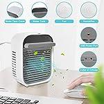 Kriogor-Mini-Condizionatore-dAria-Portatile-Mini-Air-CoolerCondizionatori-Portatili-Personal-USB-Cooler-con-3-velocita-Basso-Rumore-per-Casa-e-Ufficio