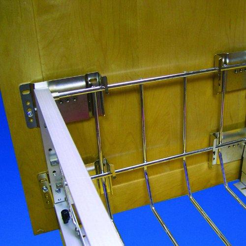 Kit Mount Door - Rev-A-Shelf 5345-DM-KIT-52 Door Mount Extenders - Wire-Chrome