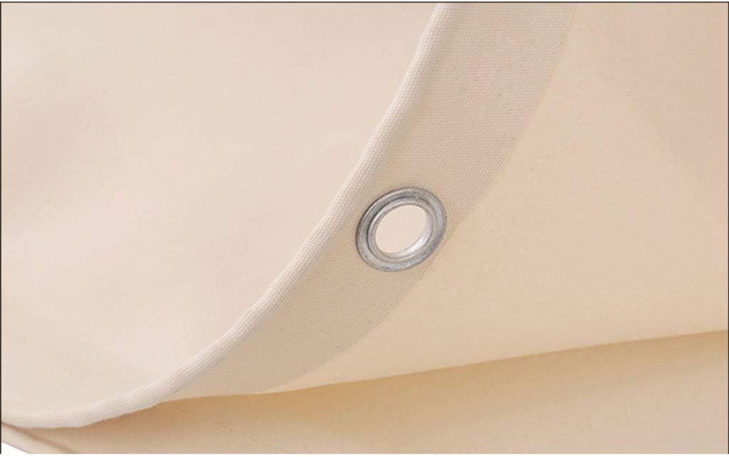 B/âches Toile imperm/éable pour pergola tonnelle terrasse Toile imperm/éable ombrage b/âche de Protection b/âche transparentestore Taille : 2x2m